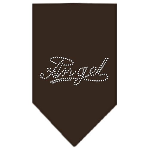 Angel Rhinestone Bandana - Cocoa