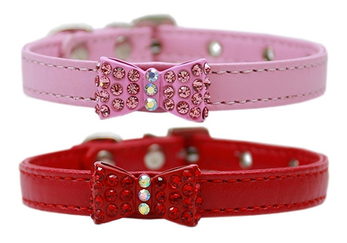 Bow-dacious Crystal Collars
