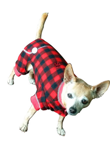 Lumberjack Red Plaid Dog Jumper