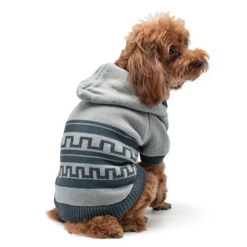 Pattern Sweater Coat