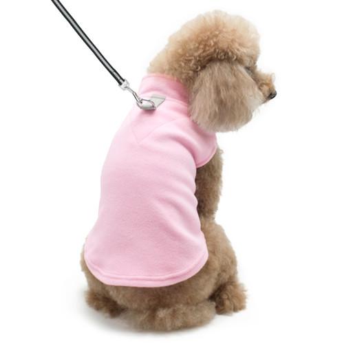 PP Essential Fleece Vest - Pink