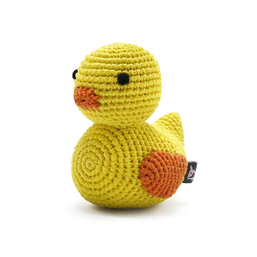 PAWer Squeaky Toy - Duck