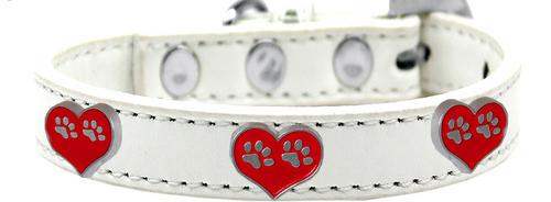 Paw Heart Widget Dog Collar