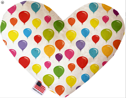 Balloons Heart Dog Toy