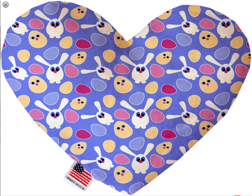 Chicks and Bunnies Heart Dog Toy