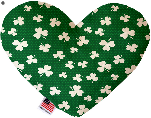 Shamrock Heart Dog Toy