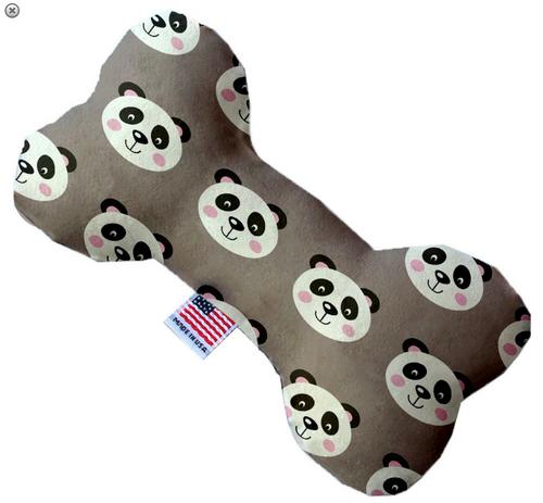 Grey Pandas Bone Dog Toy