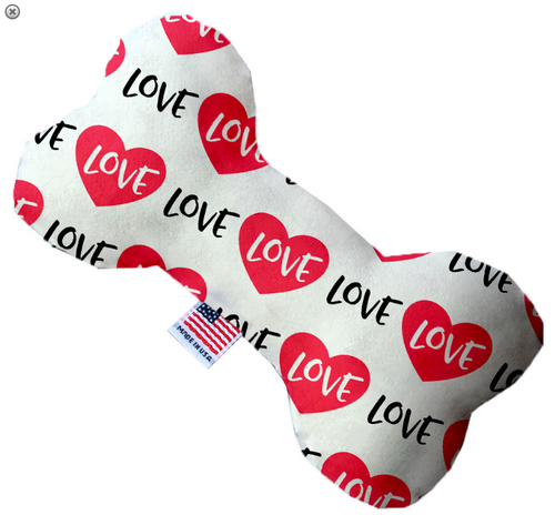 Classic Love Bone Dog Toy