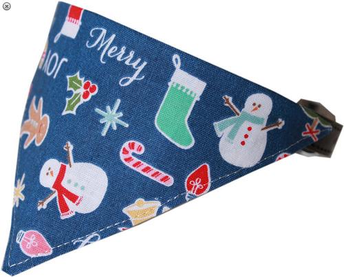 Holiday Mix Bandana Pet Collar