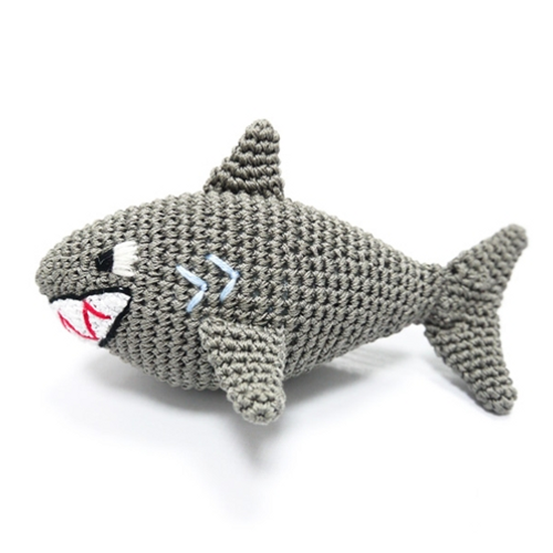 PAWer Squeaky Toy - Shark