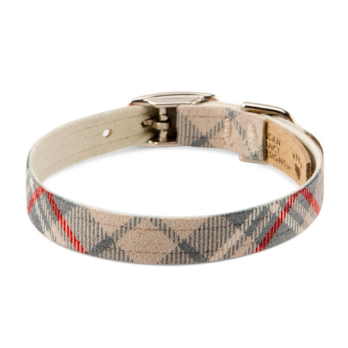 Scotty Furberry Brown Doe Plaid Collar