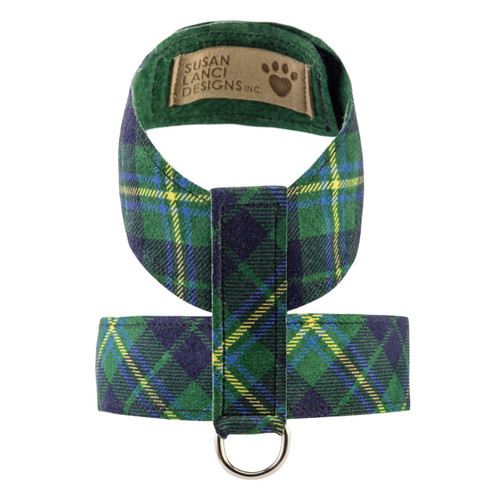 Scotty Furberry Green and Blue Plaid Tinkie Harness 2
