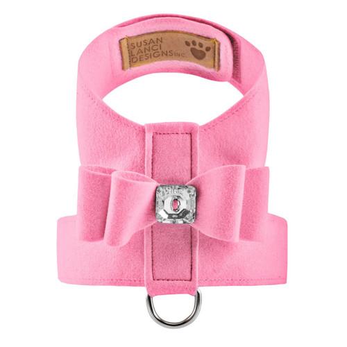 Luna Bowtique Tinkie Pink Big Bow Harness 2