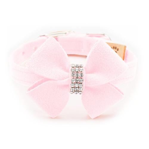Luna Bowtique Pink Nouveau Bow Collar