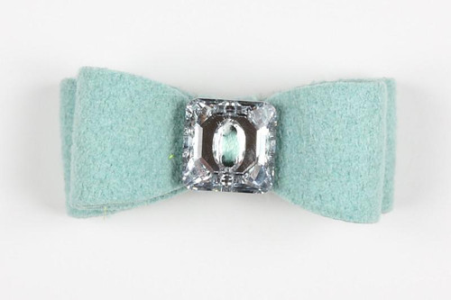 Luna Bowtique Mint Big Bow Hair Bow
