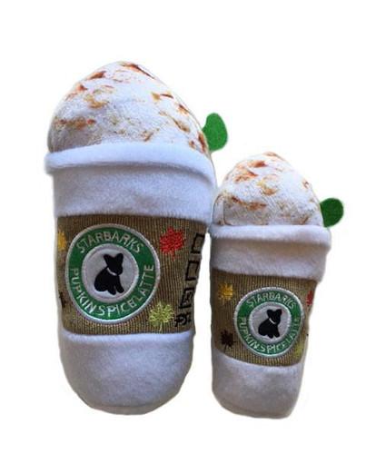 Starbarks Pupkin Spice Latte Toy