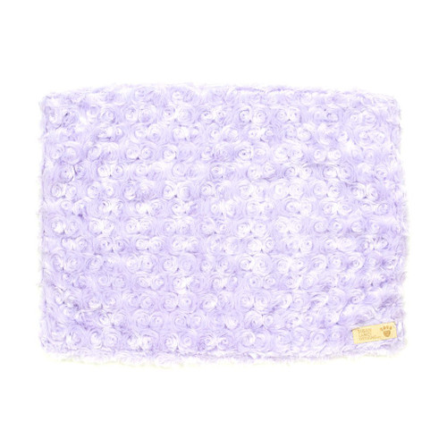 Lavender Curly Sue Blanket