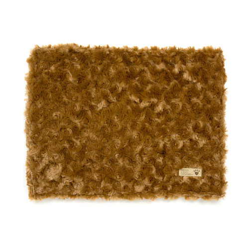 Caramel Apple Curly Sue Blanket