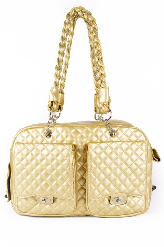 Classic Tote Bag in Gold