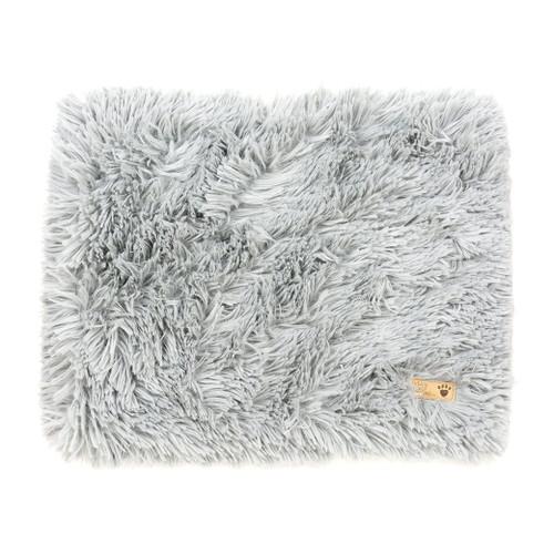 Silver Shag Blanket
