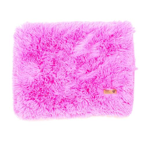 Rose Pink Shag Blanket