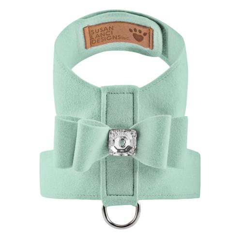 Luna Bowtique Tinkie Mint Big Bow Harness 2