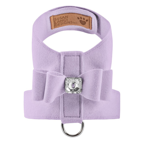 Luna Bowtique Tinkie Lavender Big Bow Harness