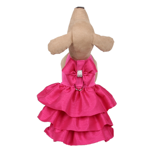 Madison Ruffle Pink Couture Dress