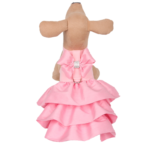 Madison Ruffle Light Pink Couture Dress