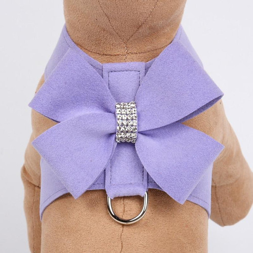 Luna Bowtique Tinkie Lavender Nouveau Bow Harness