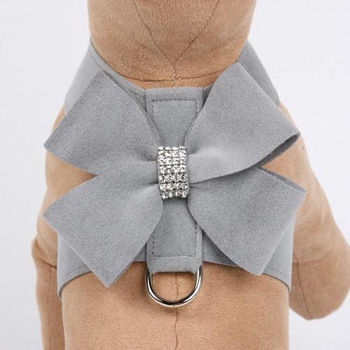 Luna Bowtique Tinkie Silver Nouveau Bow Harness