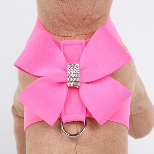 Luna Bowtique Tinkie Rose Pink Nouveau Bow Harness