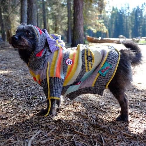 Sock Monkey Multi Color Sweater 6