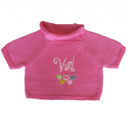 Pink Vail Sweater