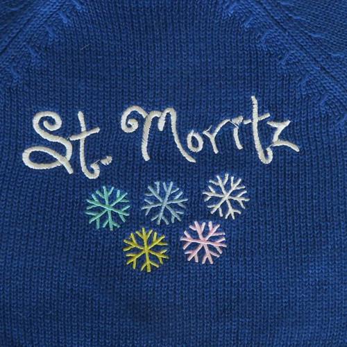 Blue St. Mortiz Sweater  3