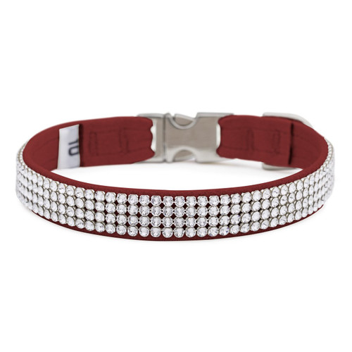 Four Row Red Gilmore Perfect Fit Collar