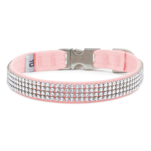 Four Row Pink Gilmore Perfect Fit Collar