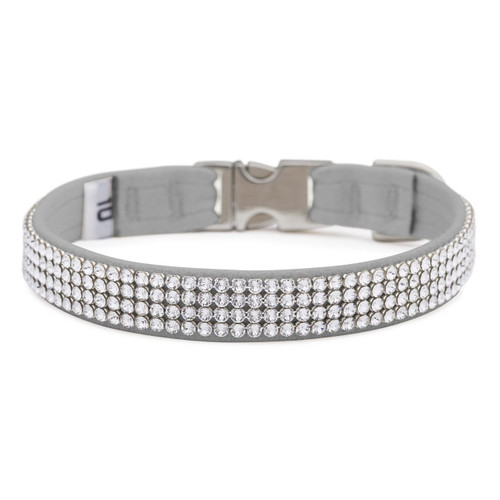 Four Row Silver Gilmore Perfect Fit Collar
