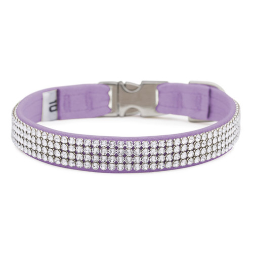 Four Row Lavender Gilmore Perfect Fit Collar