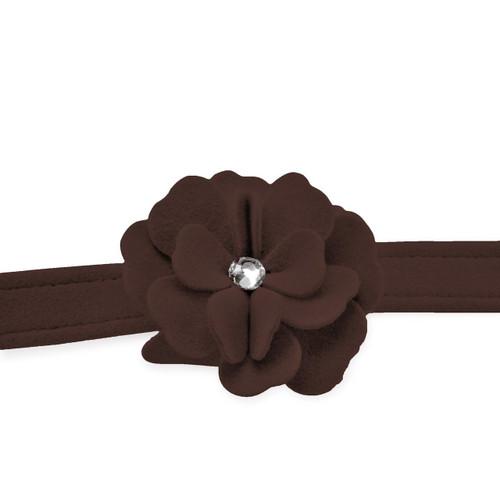 Garden Flower Chocolate Leash