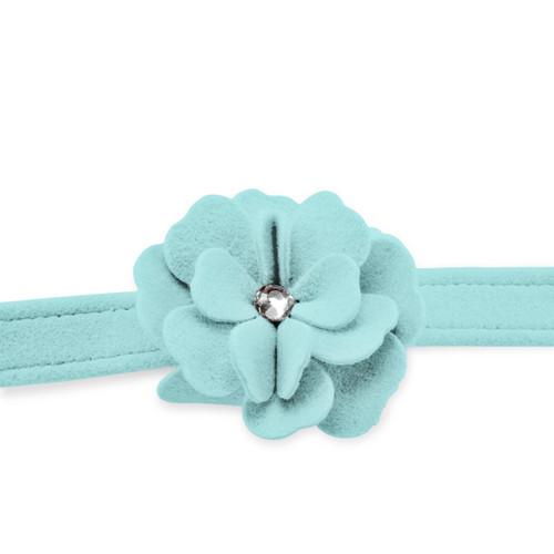 Garden Flower Tiffinye Blue Leash 2