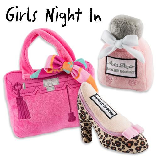 Girls Night In Plush Toys Pack