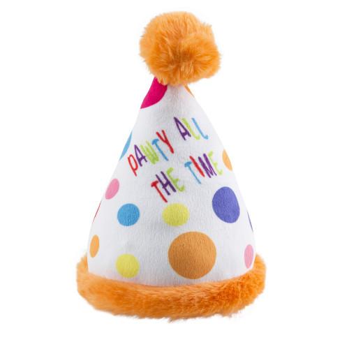 Happy Birthday Pawty Hat Plush Toy