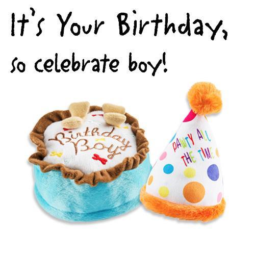 Birthday Boy Plush Toys Pack