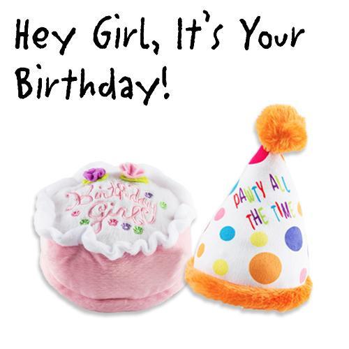 Birthday Girl Plush Toys Pack