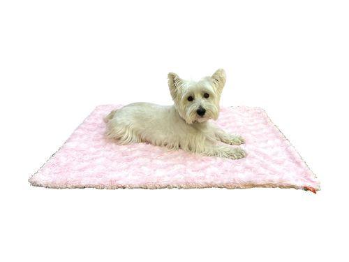 Blanket, Bella Light Pink Medium