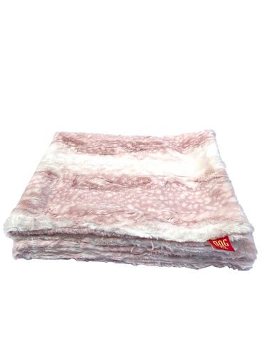 "Travel Medium 29""x29"" Blanket, Fawn Rosewater"