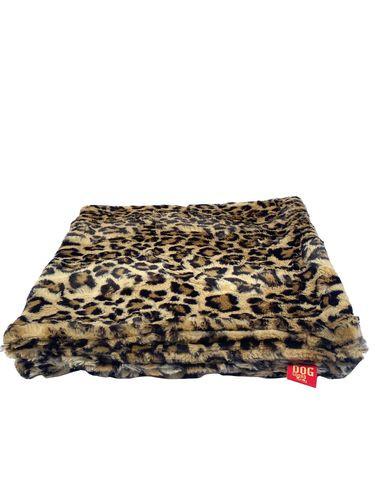 "Travel Medium 29""x29"" Blanket, Leopard Sand"