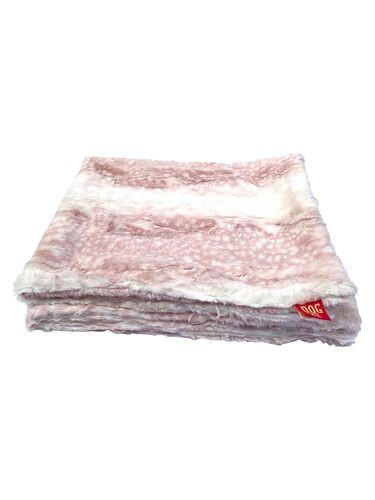 "Travel Medium 29""x29"" Blanket, Angora Luxe Rosewater"