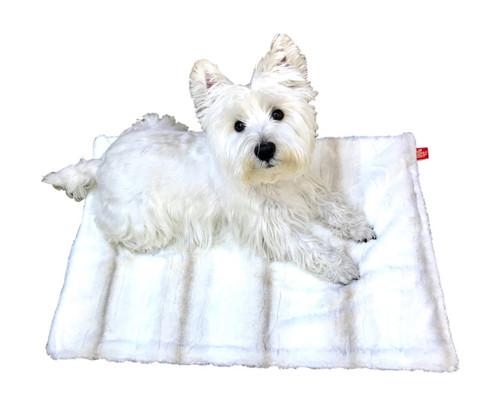 Blanket, Angora Ombre in Biscotti Small